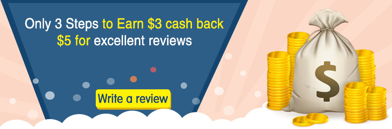 Cash back for reviews